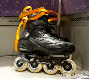Rollers Custom Salomon FSK Twister 243