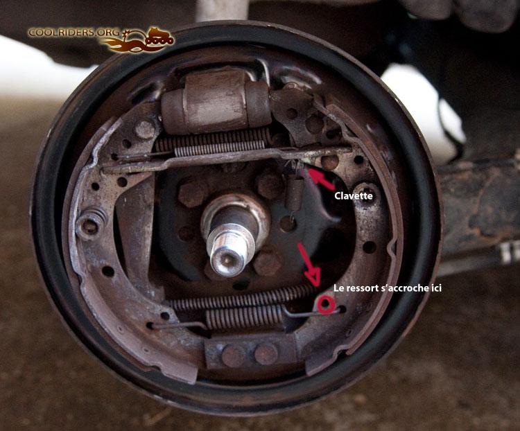 D monter les tambours d une polo 6n coolriders - Comment se couper le frein du gland ...