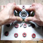 Remontage des roulements de roller dans les roues