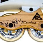 Platine de Roller en bambou - Bamboo K2 ECO