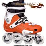 Roller Freeskate, adapté au patinage Freestyle et à la pratique du slalom