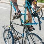 Détail du Tall Bike de Voyage de Nico