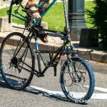 Tall Bike de Voyage de Nico, véloparade du cyclocamp 2012