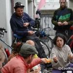 Pic-nic de vélorution en compagnie du créateur du Tall Bike Saba