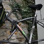 Tall Bike de Voyage Saba, cadre en acier