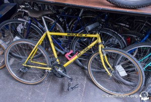 Vélo de voyage Muddy Fox explorer en acier Tange MTB triple butted