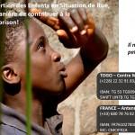 Campagne MAREM FRANCE appels aux dons pour les enfants en situation de rue du centre emera