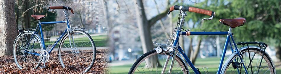 Vélo de Ville et de Randonnée équipé Brooks, Mavic, Tubus...