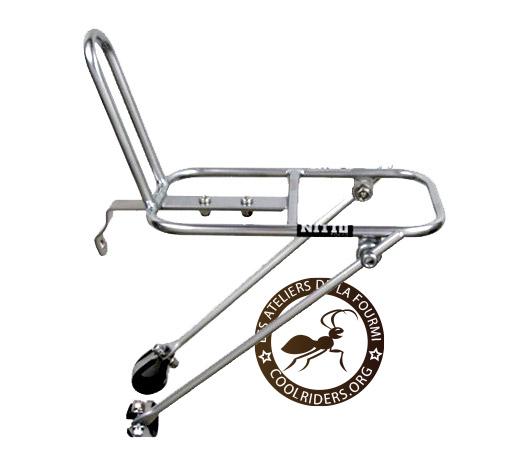 argent Nitto M18 Avant Montage en Rack Vélo Rack